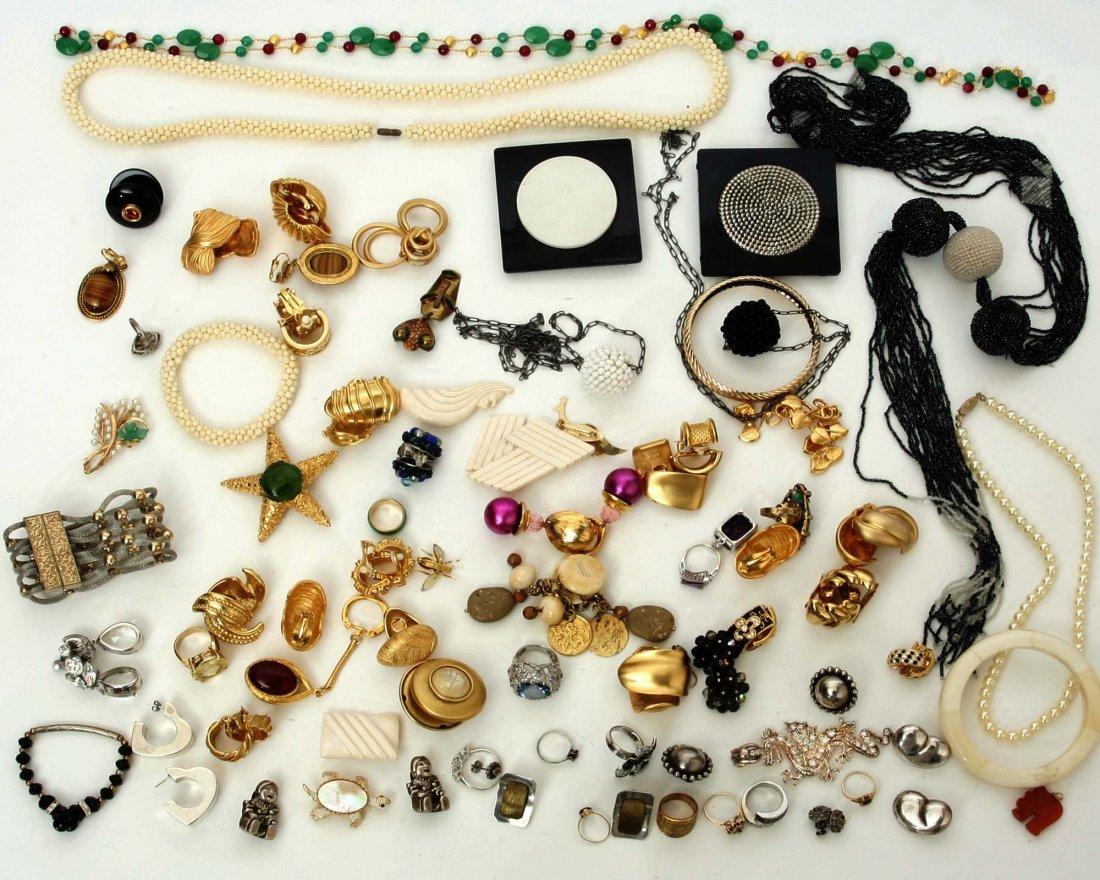 1970-90s women's costume jewelry