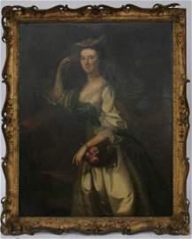 Joseph Blackburn Portrait of Lady Abigail Erving Scott