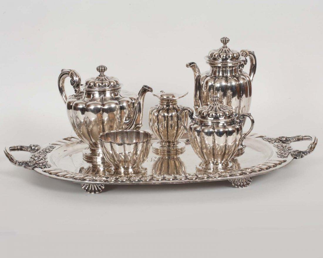 Sanborns Sterling Silver Tea Set 189 oz