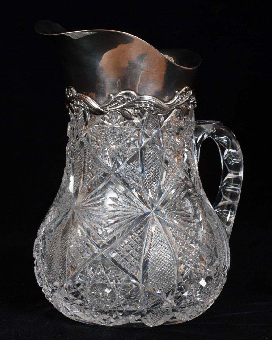 Tiffany & Co. Cut Crystal Pitcher