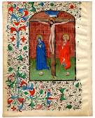 The Book of Hours 15th C Manuscript
