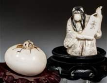 Japanese Ivory Late 19th Century