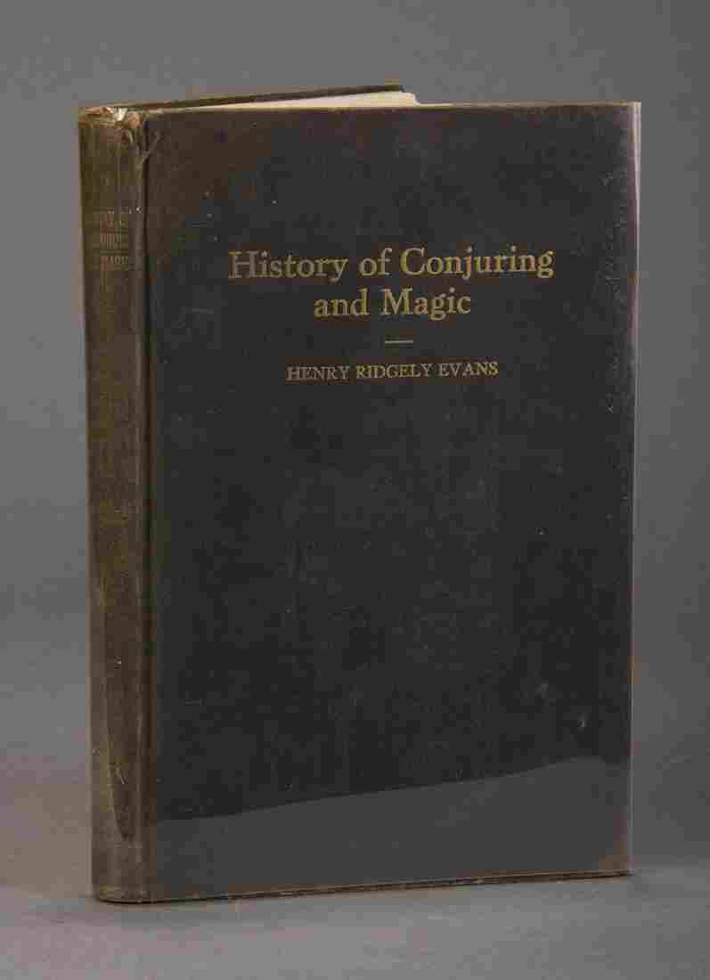 History of Conjuring & Magic – Henry Ridgely Evans