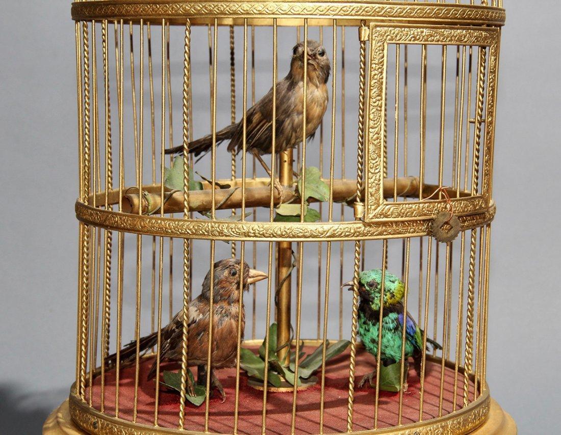 TRIO OF SINGING BIRDS AUTOMATON – BONTEMPS - 2