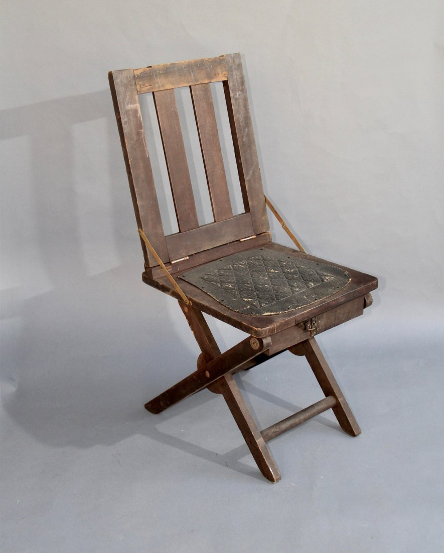 COLLAPSING CHAIR – DeMOULIN