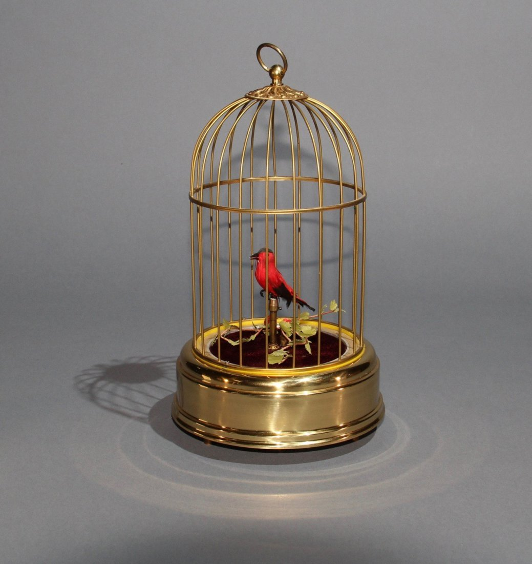 SINGING BIRD AUTOMATON - MODIFIED BY DODSON