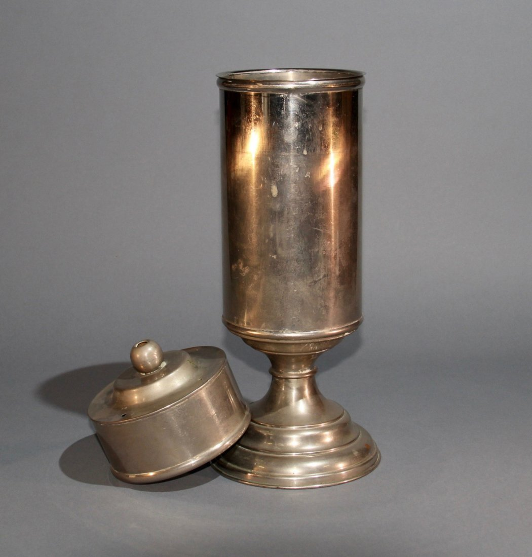 FLAG VASE WITH LID