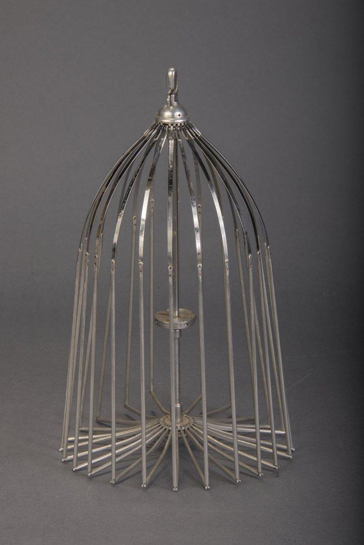 ROUND TOP VANISHING BIRD CAGE - JOHN MARTIN
