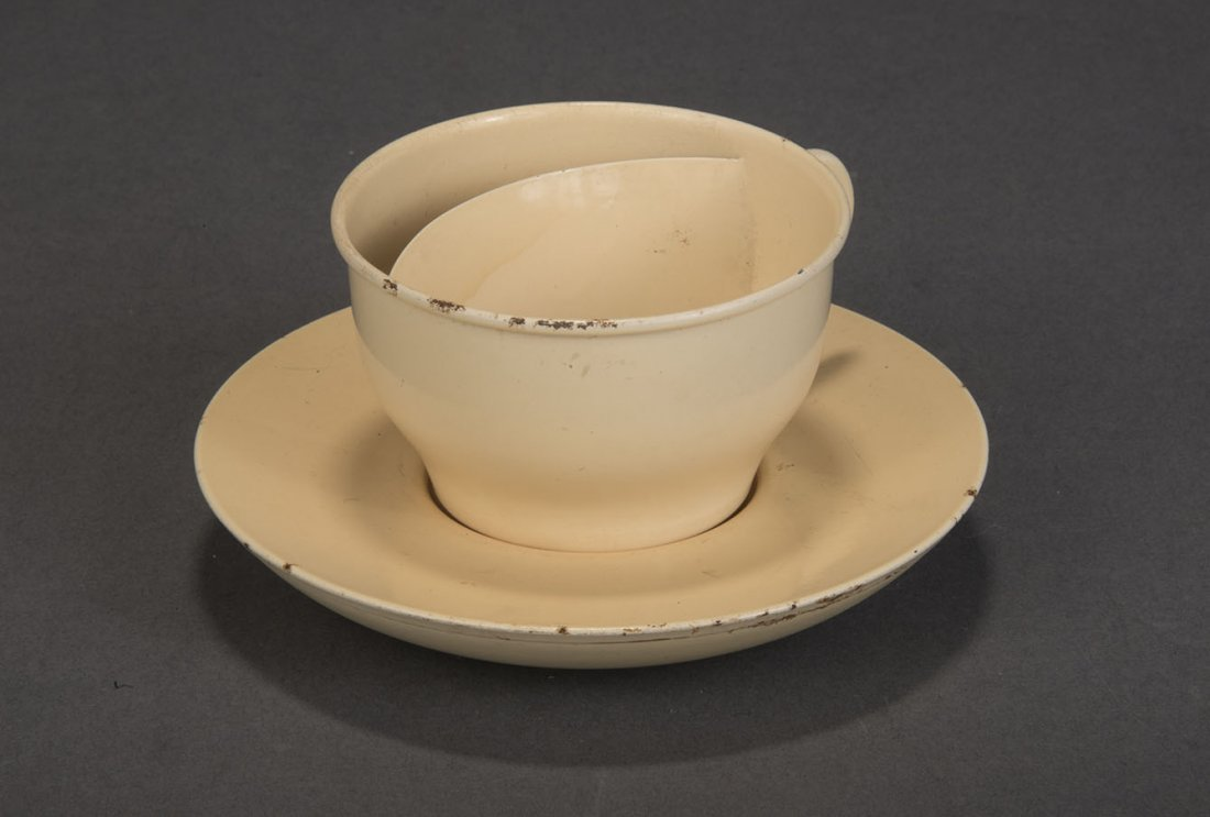 CONFETTI CUP AND SAUCER - PETRIE & LEWIS