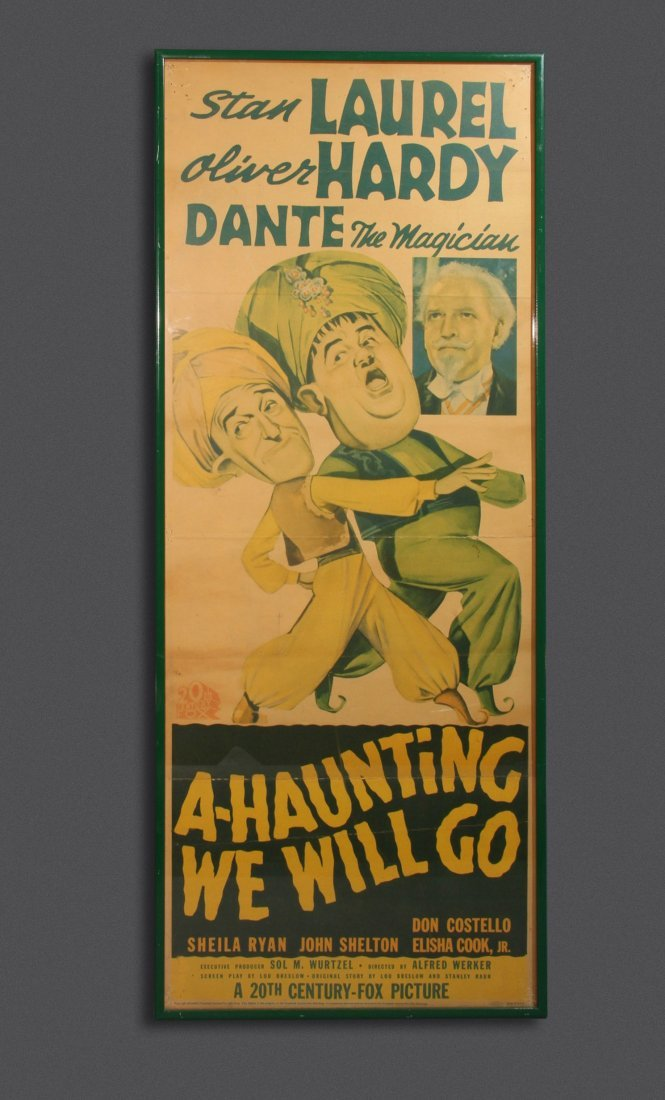 """POSTER: """"A HAUNTING WE WILL GO"""""""
