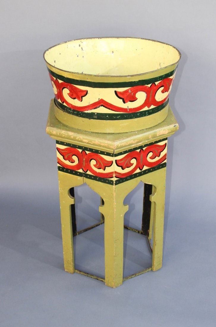 HINDOO WONDER BOWL AND TABOURET – ROTERBERG