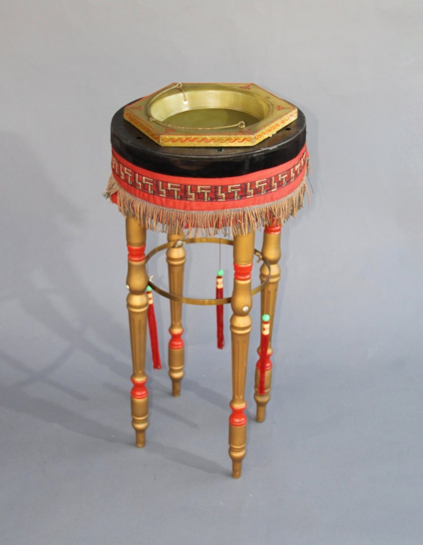 HINDOO WONDER BOWL AND TABOURET – ROTERBERG - 4