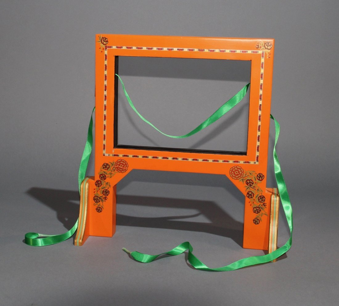 CUT AND RESTORED RIBBON FRAME – CARL WILLIAMS