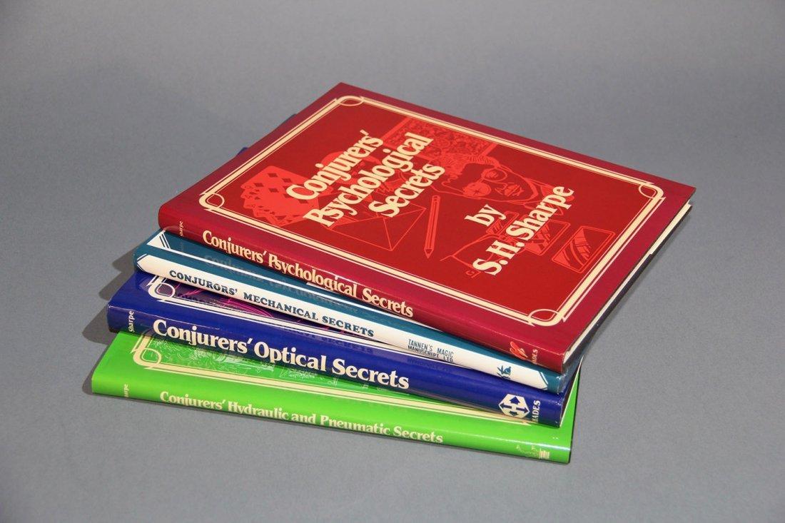 """CONJUROR'S SECRETS – 4 VOLUMES"" – S.H. SHARPE"