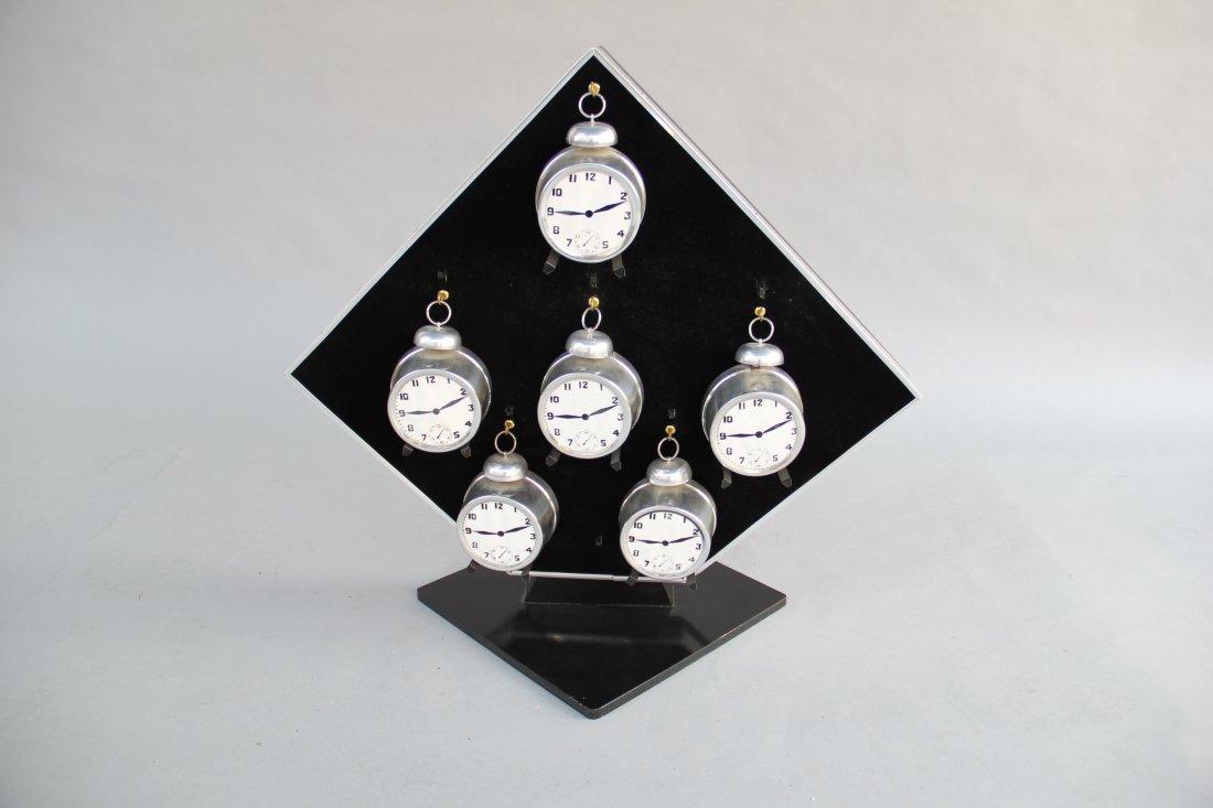 Abbott's Ringing Alarm Clock Stand