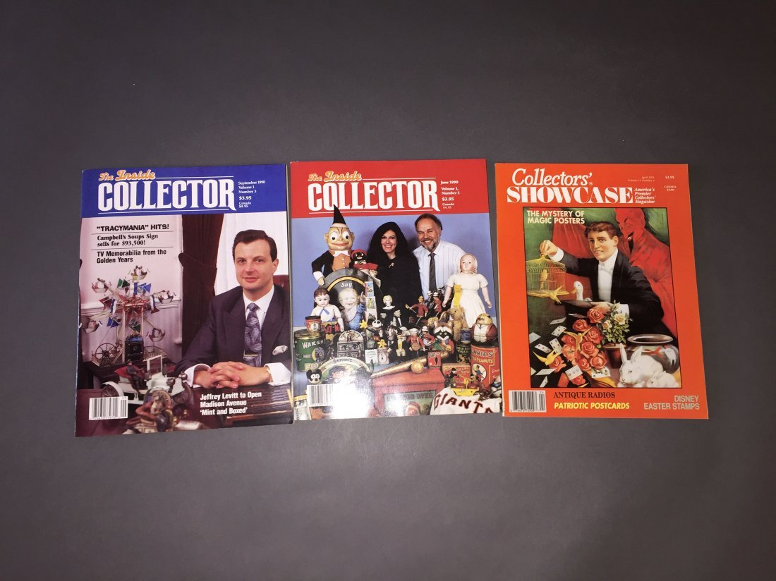 Collection of Automata Auction Catalogs, Magazines, Boo - 2