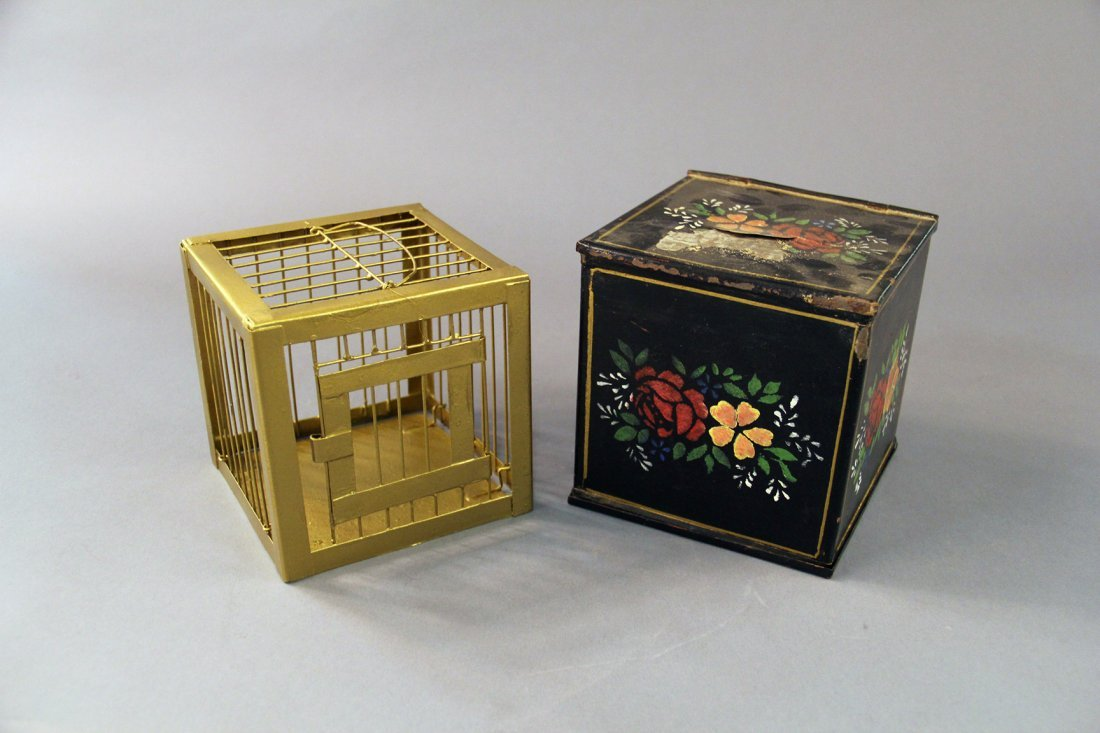 Bird Cage Production Box