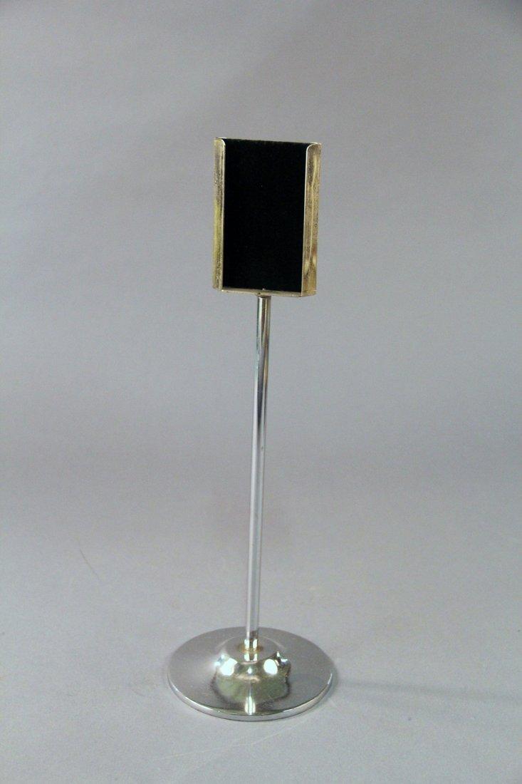 Card Changing Pedestal