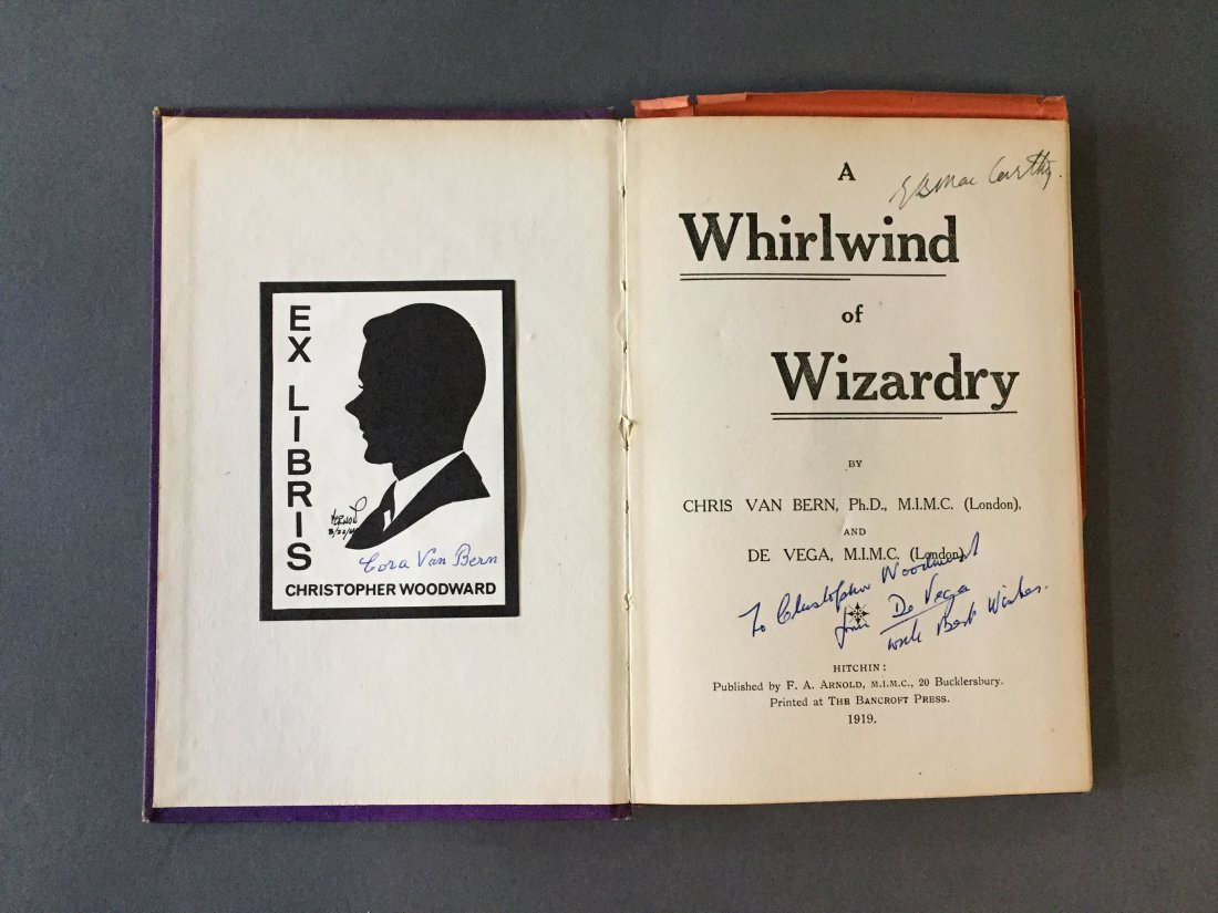 A Whirlwind of Wizardy – signed - 2