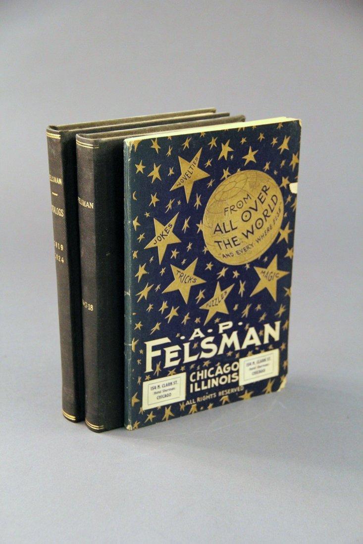 Felsman, Arthur P - 4 catalogs