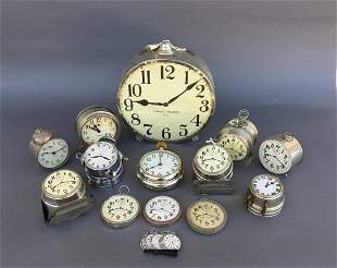 Huge lot of Production Clocks