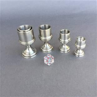 4 Coin Vases - Bert Pickard