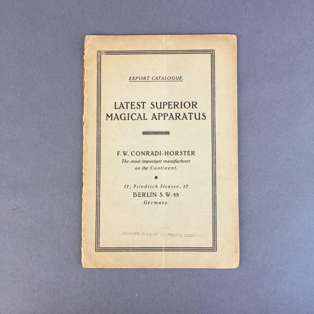F. W. Conradi- Horster - Export