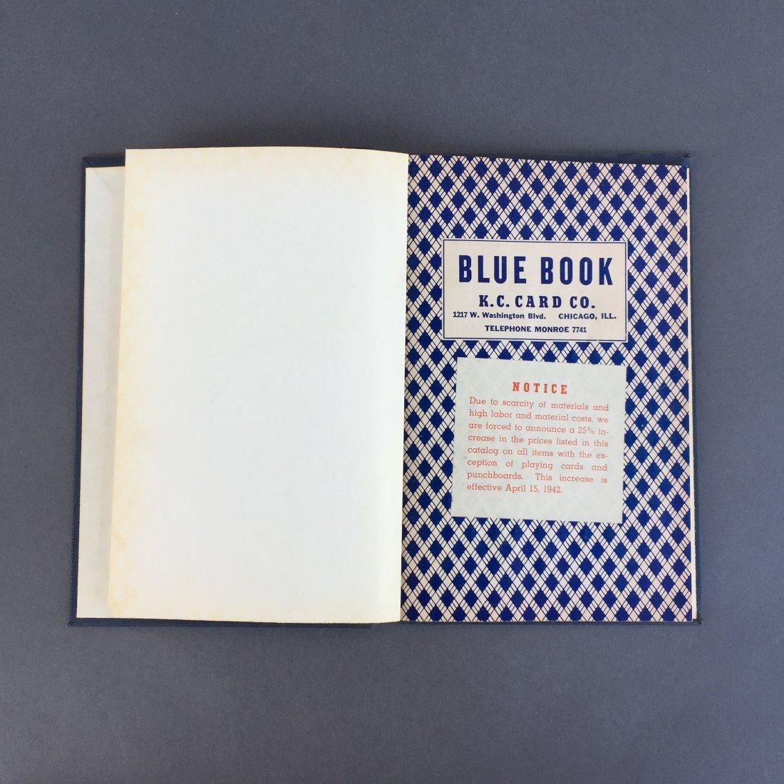 Blue Book - K.C. Card Co