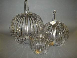 6: (Apparatus) Three Items: Appearing Bird Cages.