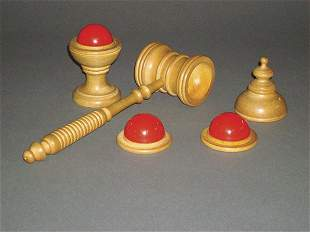 10: (Apparatus) Ball Vase and Mallet