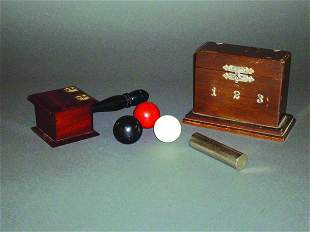 12: (Apparatus) Two Items: Ballot Box and Divination