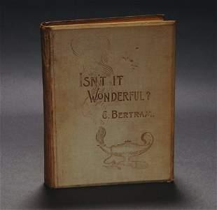15: (Bertram, Charles) Isn't It Wonderful?