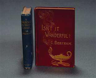 16: (Bertram, Charles) Two Volumes: Isn't It Wonderful