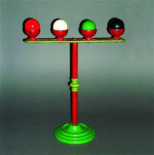 17: (Apparatus) Billiard Ball Rack