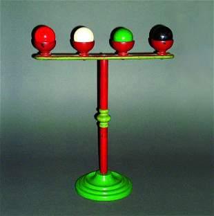 17: (Apparatus) Billiard Ball Rack