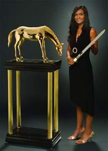 129: (Apparatus) Hero's Horse.