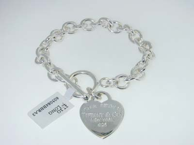12: Tiffany & Co. Silver Chain Bracelet
