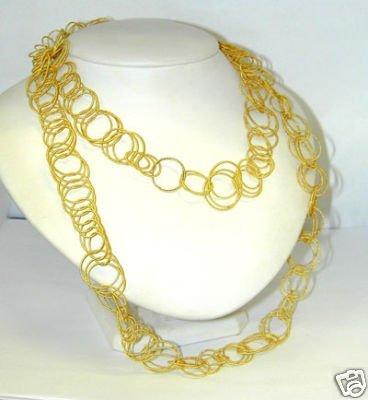76: 76: 76: Buccellati 18K Yellow Gold Necklace