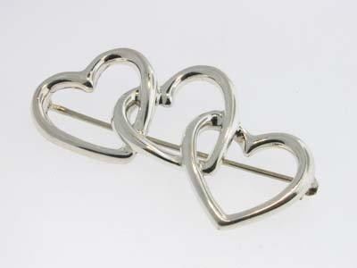 4: 4: 4: Tiffany & Co Silver Pin