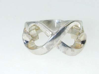 5: 5: 5: Tiffany & Co Silver Ring