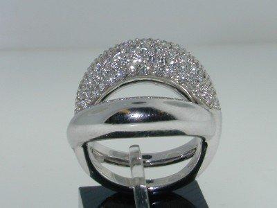 27: Mauboussin Paris18k White Gold Diamond Ring