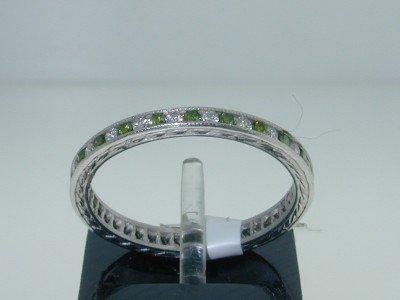 26: Platinum, Multi-color Diamond Ring