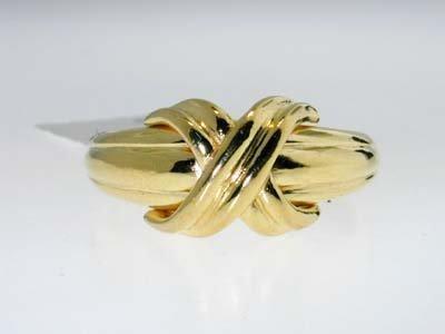 19: 19: 19: 19: 19: Tiffany & Co. 18K Yellow Gold Ring - 3