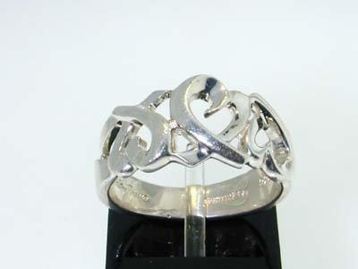 20: 20: 20: 20: 20: Tiffany & Co. Silver Ring