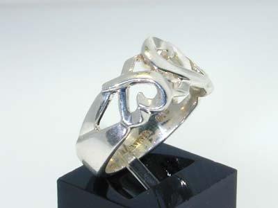20: 20: 20: 20: 20: Tiffany & Co. Silver Ring - 2