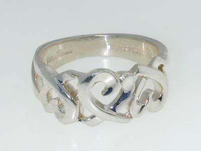 20: 20: 20: 20: 20: Tiffany & Co. Silver Ring - 3