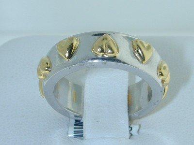 2: 2: 2: Platinum / 18K Yellow Gold Ring