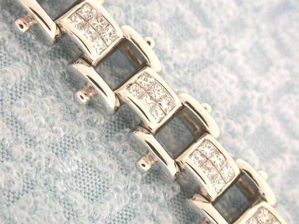 3: 14k Gold Bracelet with Diamonds