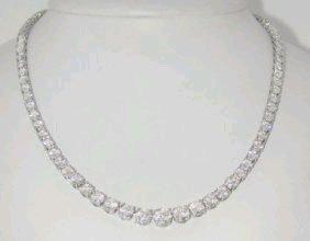 305: 305: Cartier Platinum Diamond Necklace !!
