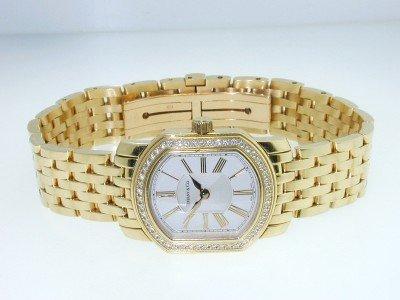 281: TIFFANY & Co 18K Yellow Gold, Diamond Watch